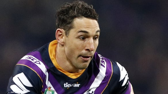 Melbourne Storm into NRL grand final - but will Billy Slater be there?