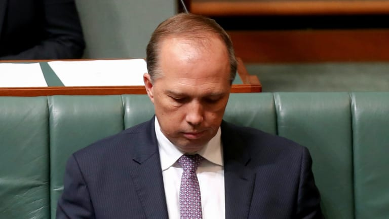 Peter Dutton publicly states he's calling colleagues to convince them to dump Prime Minister Malcolm Turnbull.