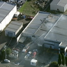 'Explosion' as factory fire sends smoke over Melbourne's north