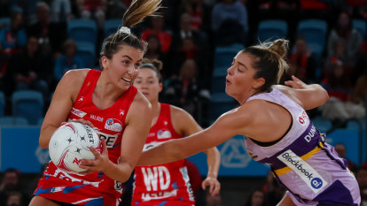 'We needed to get our mojo back': Swift return to form as NSW down Firebirds