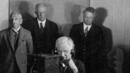 From the Archives, 1930: Australia linked to Britain by wireless telephone