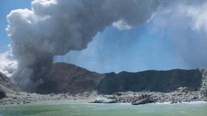 'No signs of life': Fears for Australians after volcanic eruption on NZ island