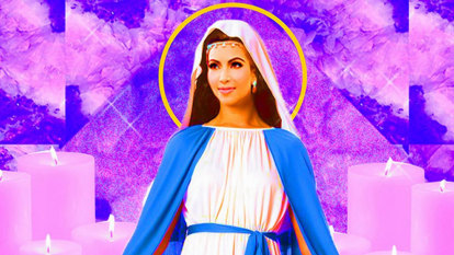 Divine kitsch: From Beethoven 'post-bath' to a sainted Kim Kardashian