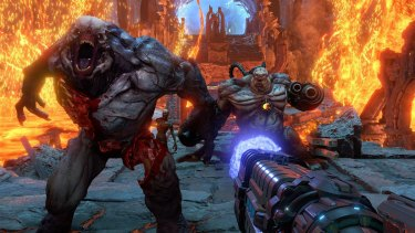 Doom Eternal keeps you close to death constantly, which ratchets up the tension.
