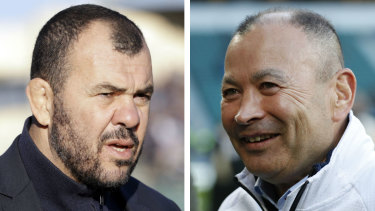 Michael Cheika and Eddie Jones.