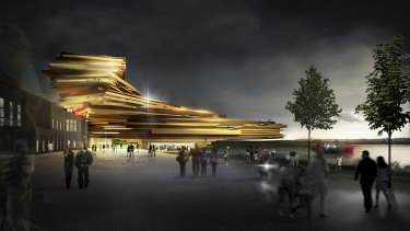 An East Perth Power Station concept plan by architectural firm Hassell.