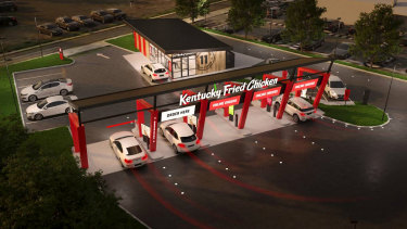 "Newcastle is set to become the ""first city in the world"" to have a drive-through-only KFC."