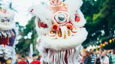 Lion dancers will perform at various events.