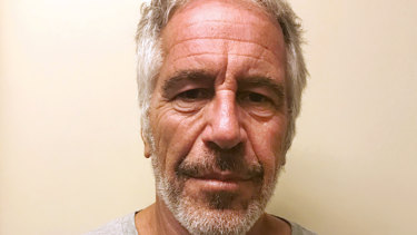 Jeffrey Epstein, pictured in 2017 by the New York State Sex Offender Registry.
