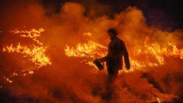 Queensland firefighters have been battling blazes throughout spring.