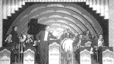 Jim Coates Band at the Embassy Ballroom in 1937.