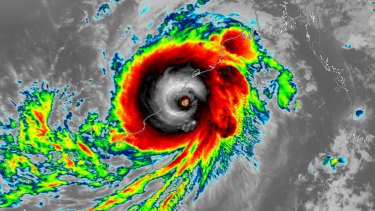 Cyclone Fani.
