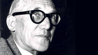 Legendary Swiss-French architect Charles Le Corbusier.