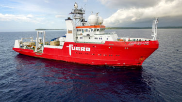 The remote operations centre in Perth will be controlling robots launched off Fugro vessels in WA's north west.