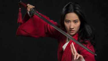 Liu Yifei is Mulan.