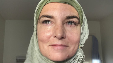 Sinead O'Connor said she has converted to Islam.