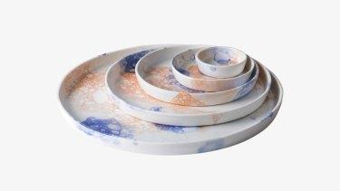 R L Foote Design Studio Bubble Plate.
