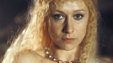 Helen Mirren plays a turbulent Titania in A Midsummer Night's Dream.