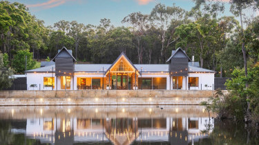 John Poynton and Di Bain's Sundance Lodge in Yallingup could fetch as much as $7 million after it was recently listed for sale.