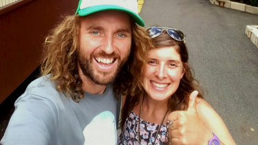 Tree Hugger travel founders John Paul Whelan and Tina Satchell.