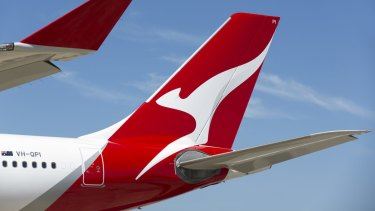 Around 13,500 Qantas staff have been stood down during the pandemic.