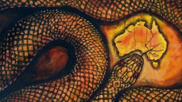 Miriam Fee's colourful creation.