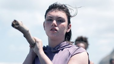 Australian actress Shannon Berry plays the troubled teen Dot in The Wilds.