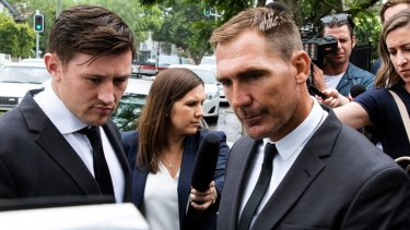 New job: North Queensland Cowboys player Scott Bolton leaves Waverley Court in January.