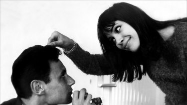 French New Wave duo Anna Karina and Jean-Luc Godard were together for six years, creating seven films together. They divorced as one of cinema's most defining couples.