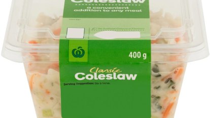 Woolworths coleslaw recalled over potential salmonella contamination