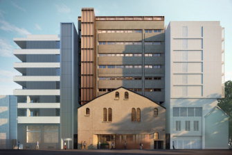 The proposed refurbishment will include   communal spaces and a public cafe.