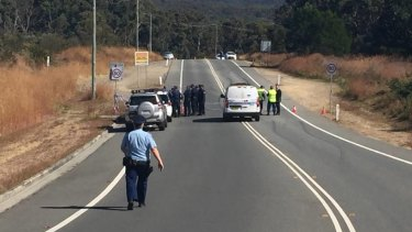 Police found Wade Still, 23, badly burnt on the side of a road.