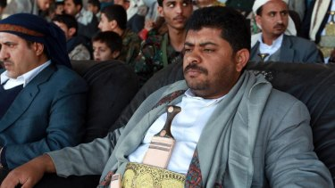 Mohammed Ali al-Houthi, the head of the Houthis' Supreme Revolutionary Committee, Yemen.