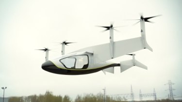 Rolls-Royce is building an electric flying taxi.