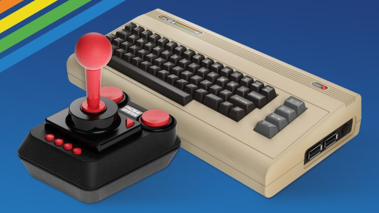 THEC64 Mini looks the part, even if there's no miniature tape deck to go with it.