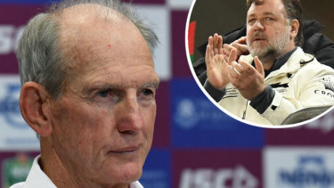 Stars align: Wayne Bennett will join another big name at the Bunnies.
