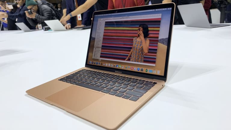 The new MacBook Air sits between the lowest-end MacBook Pro and the 12-inch MacBook, but seems set to replace both.
