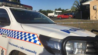 Sleepy driver rams police car near Cairns