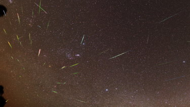 Early risers around the Perth metro area were treated to a night sky spectacle.