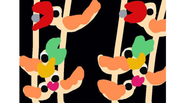 'Birds' by Elisa Manrique.