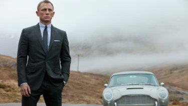 James Bond, probably lonely and possibly regretful about never needing to attend parent teacher.