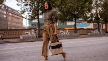 Fashion buying director Tiffany Hsu in Copenhagen.
