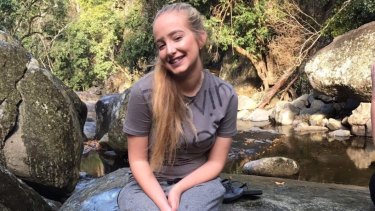 Family and friends are saying goodbye to 16-year-old Larissa Beilby.
