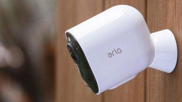 The Arlo Ultra 4K smart security camera.