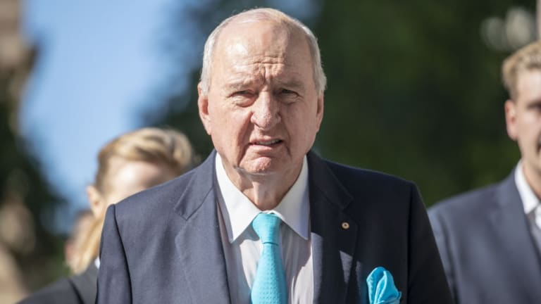 Alan Jones's lawyer argued he should not face a similar payout to the record $4.5 million originally awarded to defamed actress Rebel Wilson.