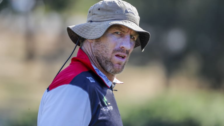 Lone wolf: Brad Thorn impressed with his attitude at the recent coaching summit in Sydney.