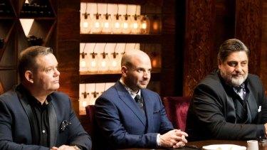 Former Masterchef Judges Gary Mehigan, George Calombaris and Matt Preston.