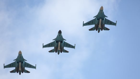 Two Russian jets fatally collide over Sea of Japan