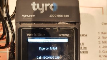 One of Tyro's devices.
