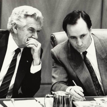 Bob Hawke and Paul Keating ushered in far-reaching economic reforms.